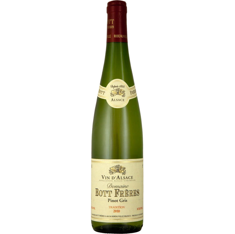 Alsace A.O.C. Pinot Gris Tradition Bott Fréres